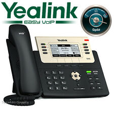 Yealink SIP-T27G Executive Gigabit SIP VoIP IP Phone PoE 6 Line HD Opus T27G