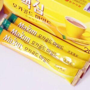 New Maxim MOCHA GOLD MILD Korean Instant Coffee Mix 20 sticks 1 BOX