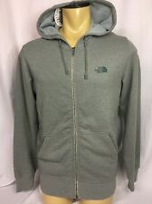 THE NORTH FACE Mens Full Zip Hoodie Jacket ~ Sz S ~ NWT MSRP $90 ~ Gray ~ USA