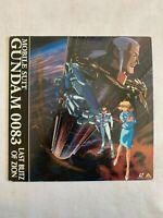 LaserDisk Mobile Suit Gundam 0083 Last Blitz of ZION Anime LD SUNRISE BANDAI
