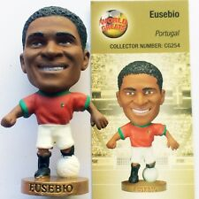 EUSEBIO Portugal Home Corinthian ProStars World Great Loose/Card CG254