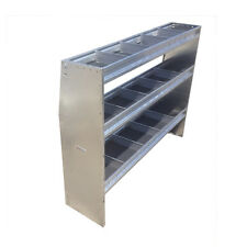 """50"""" Height 50"""" Wide Aluminum Angled Shelving Unit"""