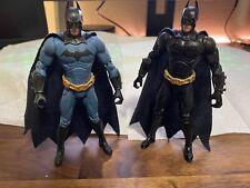 Batman Begins 2005 Mattel Battle Gear And Speed Sled Figures