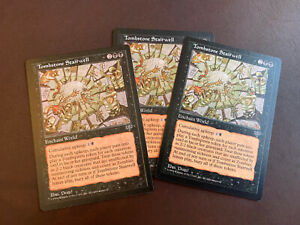 MTG Lot of 3 Tombstone Stairwell - Rare Mirage NM Magic the Gathering