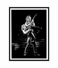 """Randy Rhoads Ozzy Osbourne Poster Print 24x36 """" Tribute Print Ready To Frame"""