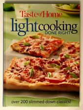 Cookbook 285 Light Cooking Done Right Brunch Salads Pasta Couscous Chicken Pizza