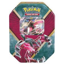 Yveltal EX Tin Pokemon Card Metal Storage Case w/ 4 Booster Packs!