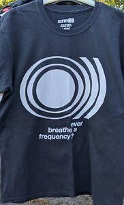 Sunn o)) large, black short-sleeve t-shirt, Ever Breathe a Frequency?