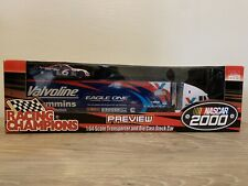 Racing Champions: NASCAR 1:64 Scale Transporter & Die Cast Stock Car