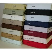 King Size Egyptian Cotton Bedding Item 4 pc OR 6 pc Sheet Set 1000 Thread Count