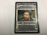 Star Wars Game Card General Solo - Endor - Rebel Scout Light Side