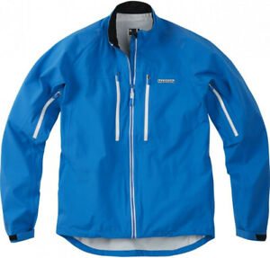 Madison Zenith Mens Cycling Jacket Blue Waterproof Breathable