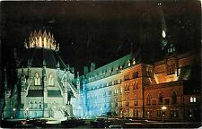 Library & Parliament Buildings Ottawa Ontario Canada CA Postcard