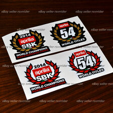 2014 aprilia world superbike champion decal sticker set fits rsv4 and tuono