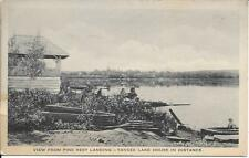 Pine Rest Landing Yankee Lake House in Distance Sullivan Cty NY Vintage not used