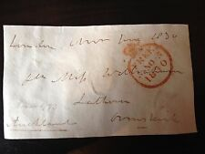 1st EARL AUCKLAND - LORD OF ADMIRALTY & GOV-GEN OF INDIA - SIGNED ENVELOPE FRONT