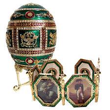 Oeuf Napoléonien copie Oeuf Faberge - OEUF Napoléonien/ collection oeufs Fabergé