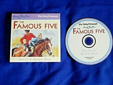 FAMOUS FIVE AUDIO BOOK - FIVE GO TO MYSTERY MOOR