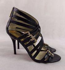 Zapatos de tacón alto Micheal Kors Correa De Cruz De Tacón Alto UK4 US7M EU37