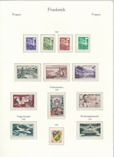 D150275 France 1959 Nice Selection of MNH Stamps