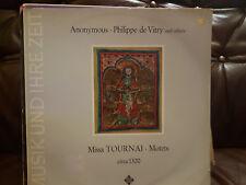Anonymous, Philippe de Vitry - Missa Tournai (SAWT9157A) 1967 (LP)