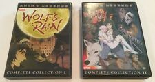 Wolf's Rain - Complete Collection 1 And 2 (7 DVD Set) Rare Oop