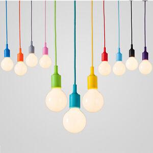 E27 silicone Pendant lamp DIY christmas colorful lighting