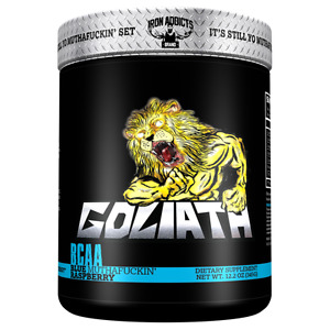 Iron Addicts Goliath BCAA Formula CT FLETCHER  (Out of Date)