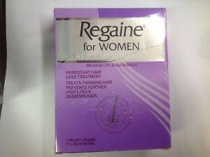 REGAINE FOR WOMEN REGULAR STRENGTH FOAM 1 MONTHS SUPPLY NEW EXPIRY MAY 2023