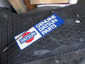 Datsun 80-82  720  NOS Rear Left Brake Cable  36531-04W00