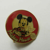 Disney Mickey Mouse Club Circle Mickey Preppy Look Pin