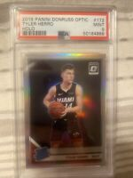 Tyler Herro 2019 Panini Optic HOLO #172 Silver Prizm PSA 9 RC Rookie Card