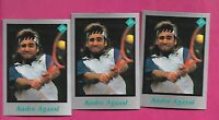 3 X  RARE ANDRE AGASSI TENNIS PLAYER MINT CARD (INV# C3260)
