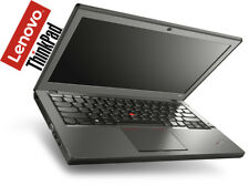 "Lenovo ThinkPad x240 i5-4300u 180gb SSD 8gb 12"" HD UMTS illuminato-TASTIERA WIN 10"