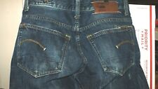 Mens G-Star Raw Jeans 3301 Straight Size 31X32 Actual 31X31