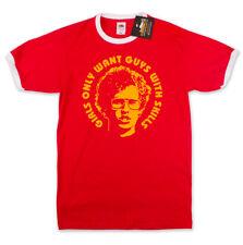 Chicas quieren chicos con aptitudes Napoleon Dynamite Inspirado Retro De Película Camiseta-Nuevo