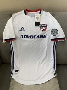 Adidas FC Dallas Away Aeroready Authentic Jersey 2019 $120 Retail GE5895 Size S