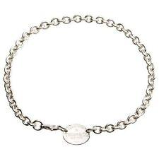 Collares y colgantes de joyería gargantillas Tiffany & Co. de plata de ley