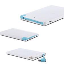 ESTERNA BANK mAh BATTERIA POWER 2600 iPhone iPad Smartphone USB SLIM pt