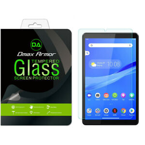 Dmax Armor Tempered Glass Screen Protector for Lenovo Tab M8 FHD (8 inch)