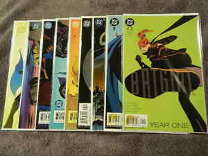 2003 DC Comics BATGIRL Year One #1-9 Complete Series Set BARBARA GORDON - VF/NM