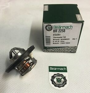 Bearmach Land Rover Discovery 1 V8 74* Thermostat ETC4761 BR2258
