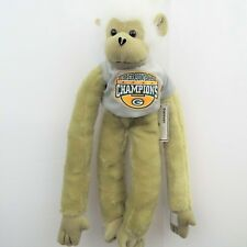 "Green Bay Packers Super Bowl XLV Champions 27"" Jersey Monkey Forever Collect NWT"