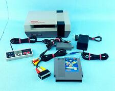 Nintendo NES Konsole + Megaman 3 + Anschlussset im Top Zustand Sammler Retro