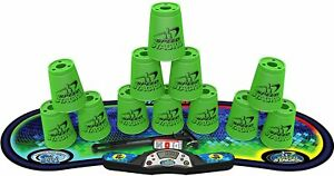 Speed Stacks Competitor Sport Stacking Set Stack Cups Pro Timer Mat Green NEW
