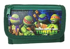 Teenage Ninja Turtle Wallet Green Children Boys Girls Wallet Cartoon Coin Purse