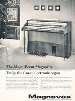 1961 Magnavox Electronic Organ A-10 - Vintage Advertisement Print Ad J480