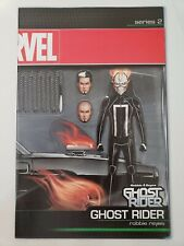 GHOST RIDER #1 (2017) MARVEL COMICS ROBBIE REYES ACTION FIGURE VARIANT COVER NM