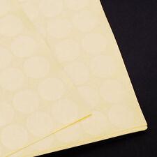 2000 Clear Tape Spots Round Dotscirclesstickersspots 19mm Diameter