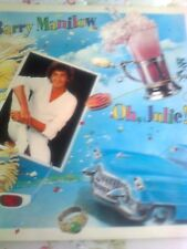 """BARRY MANILOW 12"""" SINGLE RECORD OH, JULIE! 1982 4 TRACKS"""